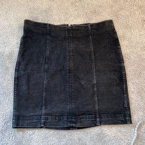 Free People Skirt Black 10